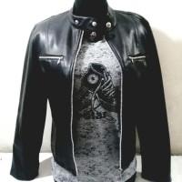 Jaket kulit asli untuk wanita