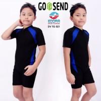 Baju Renang Diving Pendek Anak Cowo Cewe 6-10thn DV TG