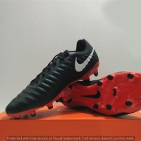 Sepatu Bola Nike Legendx 7 Academy Black (original)