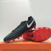 Sepatu Bola Nike Legendx 7 Club Black Red (original)
