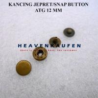 Kancing Jepret / Snap Button 12 mm ATG Bakar