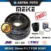 LENSA MEIKE 35mm F1.7 FOR SONY MIRRORLESS A5000/A5100/A6000/A6300 DLL