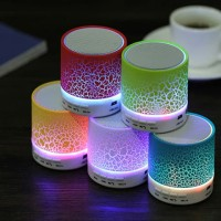 Speaker Bluetooth Music LED Portable Mini Model Retak