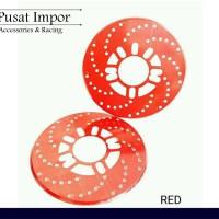 Cover Rem Tromol Diskbrake Merah - Disk Fake Disk Brake JDM Universal