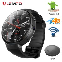 LEMFO LEM7 Smart Watch Android 7.0 Smartwatch 4G LTE Network + PB