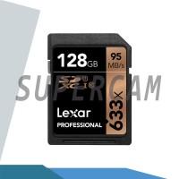 Memori Lexar 128GB UHS-I 633x SDXC Memory Card SD Professional