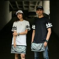 Kaos longline swag / kaos streetwear / kaos original brand fregie