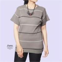 Atasan top baju blouse rajut knit