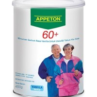 APPETON 60+ / Susu Lansia (Vanilla) 450 Gram