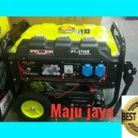 Genset Stater 2000 watt POWER ONE PT 3700 E bensin nlg Paling Laris