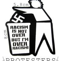 STICKER CUTTING ANTI RACISM