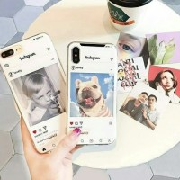 Instagram Case Oppo F9 Softcase Jelly Silicon Casing Unik