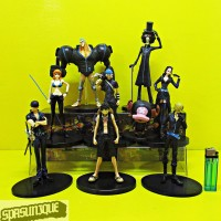Action Figure One Piece Black Crew Set Big Version Isi 9
