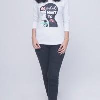 SEYES 5056 Tumblr Tee T-Shirt Kaos Cewe Katun Premium Dress Wanita