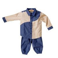 Mosfit Isac Set Baju Setelan Anak Laki Laki