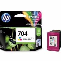 Tinta Cartridge Original HP 704 Color
