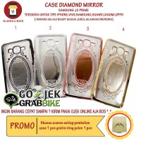 Case Paling Bagus Termurah Samsung J2 Prime Diamond Mirror Princess Hp