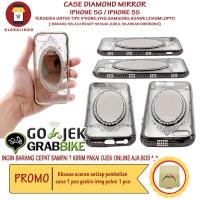 Case Paling Bagus Termurah Iphone 5G Diamond Mirror Casing Princess