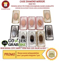 Case Paling Bagus Termurah Vivo Y31 Diamond Mirror Casing Princess Hp