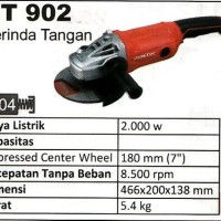 Maktec MT902 Mesin Gerinda Gurinda Tangan Selep 7 Inch S19PFEWZ