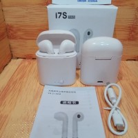 Headset Handfree Earphone Bluetooth I7S iphone 4 5 6 7 8 X