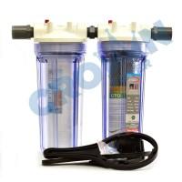 Paket EKO 2 - Saringan / Filter Air Siap Pakai 2 Housing