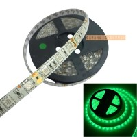 Lampu LED strip 5050 12v IP44 Outdoor| Ledstrip 5m Hijau Green