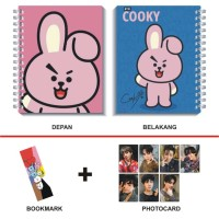 Paket Notebook Kpop BTS BT21