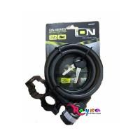 gembok ion 2507 untuk sepeda bmx anak sepeda mtb sepeda mini