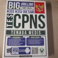 Buku big drilling siap lolos tes cpns tenaga medis