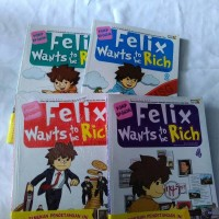 Felix wants to be rich - komik ekonomi edukasi pendidikan