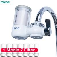 MICOE Pemurni Air kran Filter kran dapur total dapat 7 filter elemen