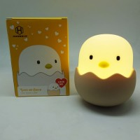 Lampu Tidur LED 2W H 90 Touch Dimmer Telor Ayam