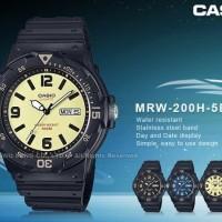 JAM TANGAN CASIO MRW-200H-5B UNISEX ORIGINAL GARANSI RESMI CASIO