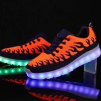 sepatu led / sepatu lampu
