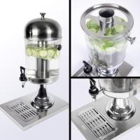 Juice Dispenser Stainless SJD 8 Jus Dispenser Single Khsusus Gojek B