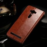New Flip Cover HP Leather WALLET Asus Zenfone Selfie 5 5 ZD551KL Case