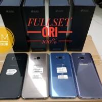 STOK TERBATAS HP SECOND SAMSUNG S8 PLUS SEIN SM G955FD FULLSET BOX ACC