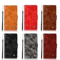 Moonmini Case untuk Samsung Galaksi Note 8 Retro Antik Case PU Kulit