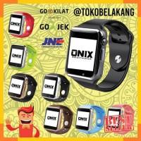 - Onix SmartWatch - A1 / U10 Black-Black Apple Watch Look Like