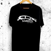 Harga kaos tshirt distro all new yaris 2010 baju otomotif mobil | antitipu.com