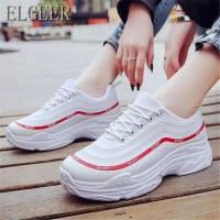 Sepatu Wanita Casual Sport SDS265 Putih