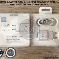 CHARGER SAMSUNG GALAXY NOTE 7 FE A8+ C7 C9 PRO FAST CHARGING ORIGINAL