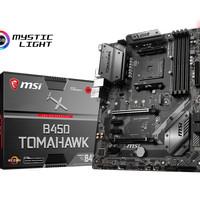 MSI B450 Tomahawk (AM4, AMD Promontory B450, DDR4, USB3.1, SATA3)