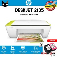 Printer HP 2135 Deskjet All in One Print Scan Copy Multifungsi Scanner