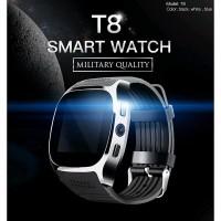 JUAL T8 Smartwatch Bluetooth Support SIM TF Card Kamera Life Waterpro