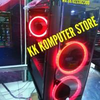 PC RAKITAN 4 RYZEN 7 2700 FEAT GTX 1060 3GB DDR5 & SSD 240GB & WIFI