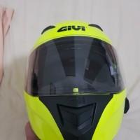 Helm GIVI X16 ukuran XL dan Sena 30K