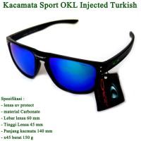 kacamata pria OKL currency sport biru fullset