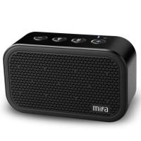 Harga mifa m1 mini portable speaker cube micro sd bluetooth superbass | antitipu.com